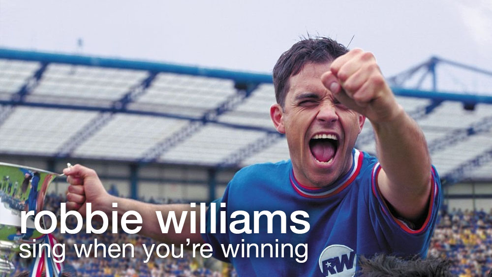 Robbie Williams – Sing When You're Winning : Pop rule the UK