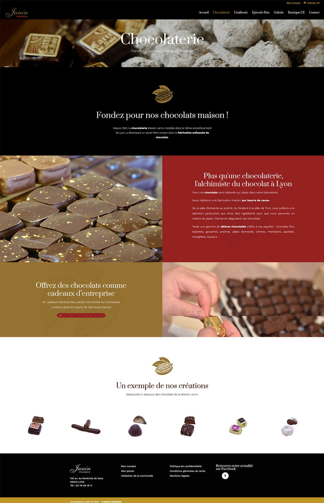 Chocolaterie Janin - Alworld