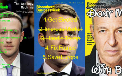 L'art de la couverture selon le Bloomberg Businessweek